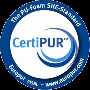Våre madrasser er Certipur-sertifiserte